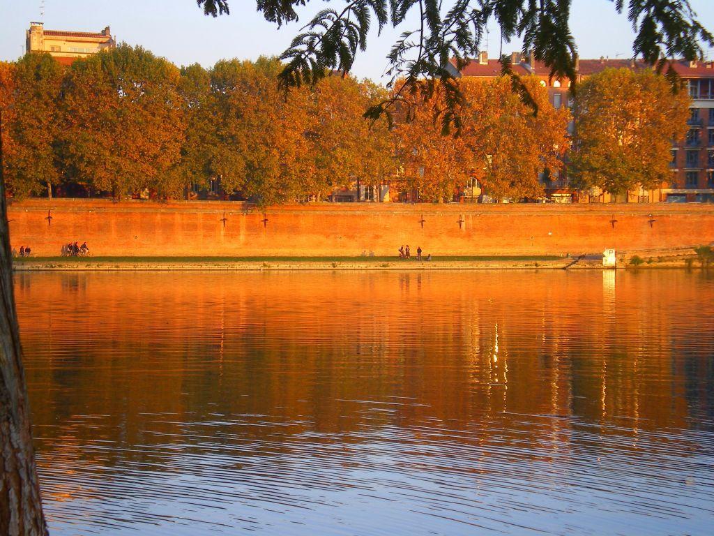 Préférence Photos Toulouse Berges Garonne brique rose UV59