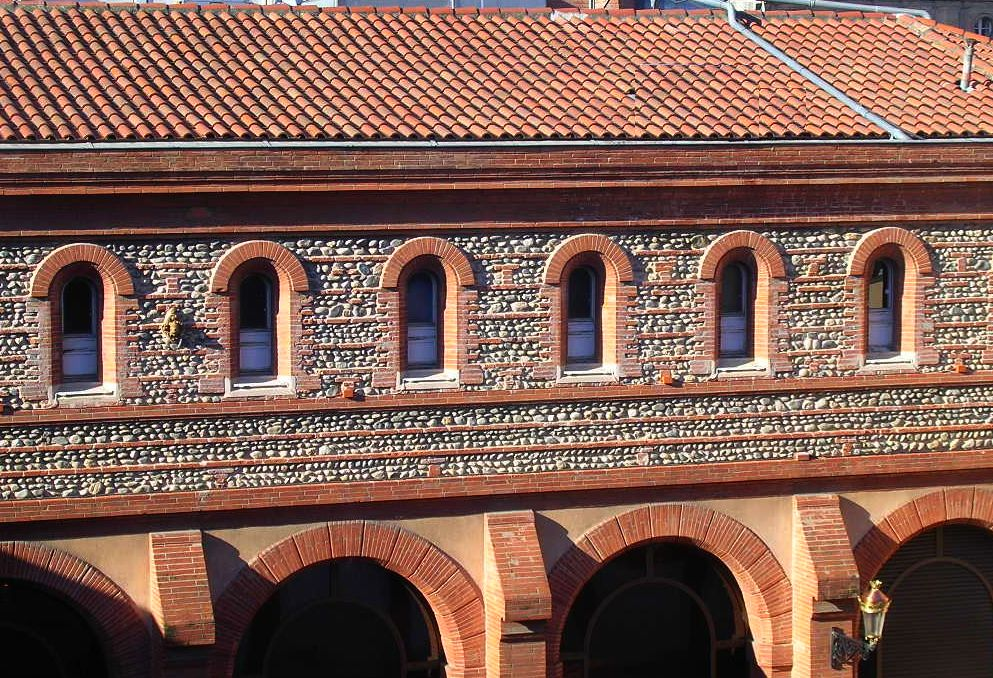 Favori 2-Toulouse-Halle-Grains-briques-galets.jpg Photos Toulouse: brique  MA97