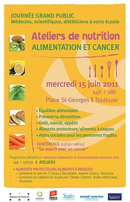 affiche conf�rence aliment cancer