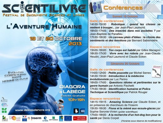 affiche conférence nutrition cancer scientilivre