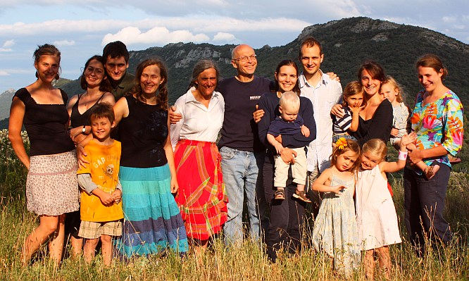 Photo Famille Corpet 2012