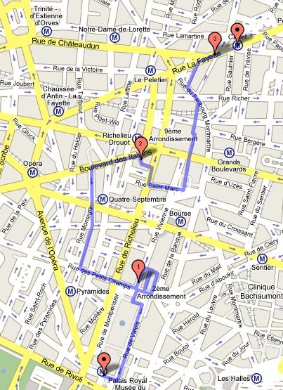 passages parisiens carte