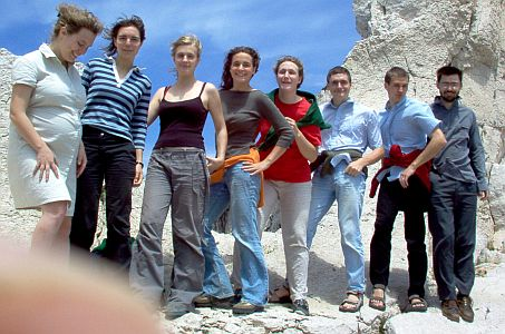 Calanques 8 enfants Corpet 2005