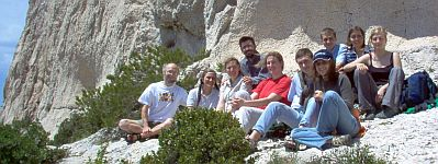 Pic-Nic Calanques 10 Corpet 2005